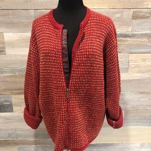Woolrich vintage wool women's Ruby cardigan XL